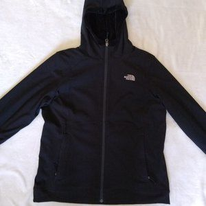 Women's Black North Face Jacket XL
